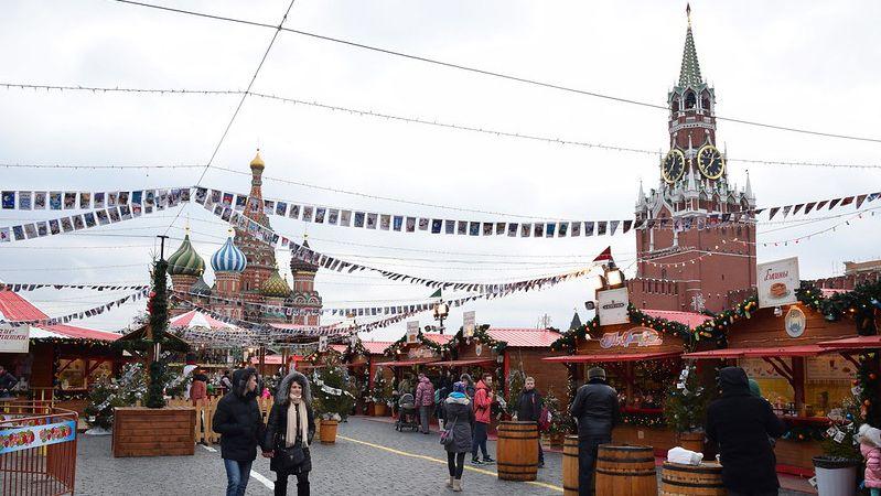 Красная Площадь перед Новым годом