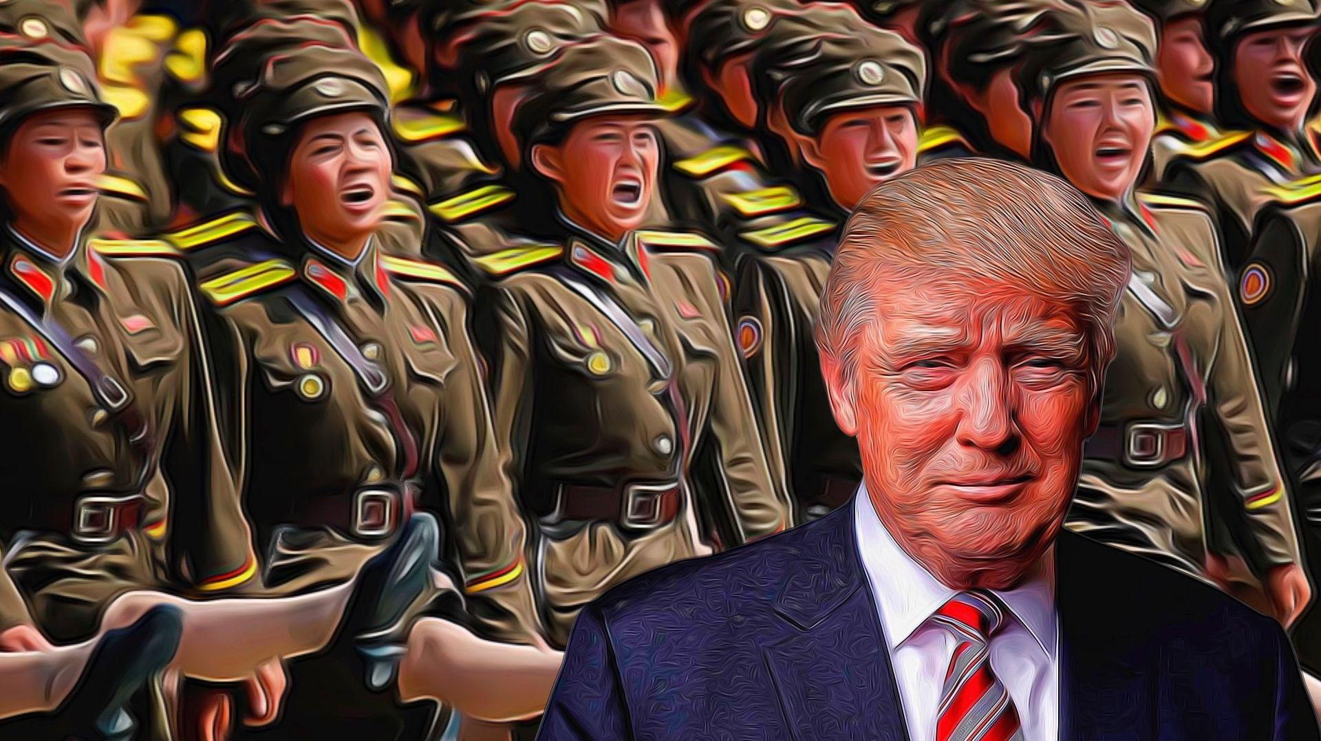 СиЦзиньпин иТрамп обсудили улучшение ситуации вокруг КНДР