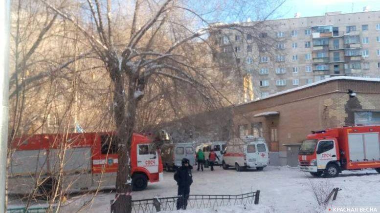 Магнитогорск. Фото с места событий. 2.01.2018