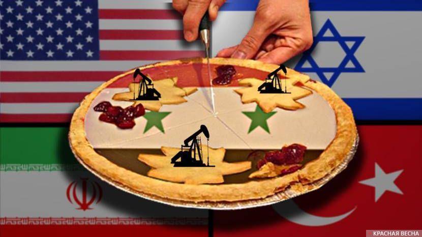 Сирия. Турция. США. Иран. Израиль.