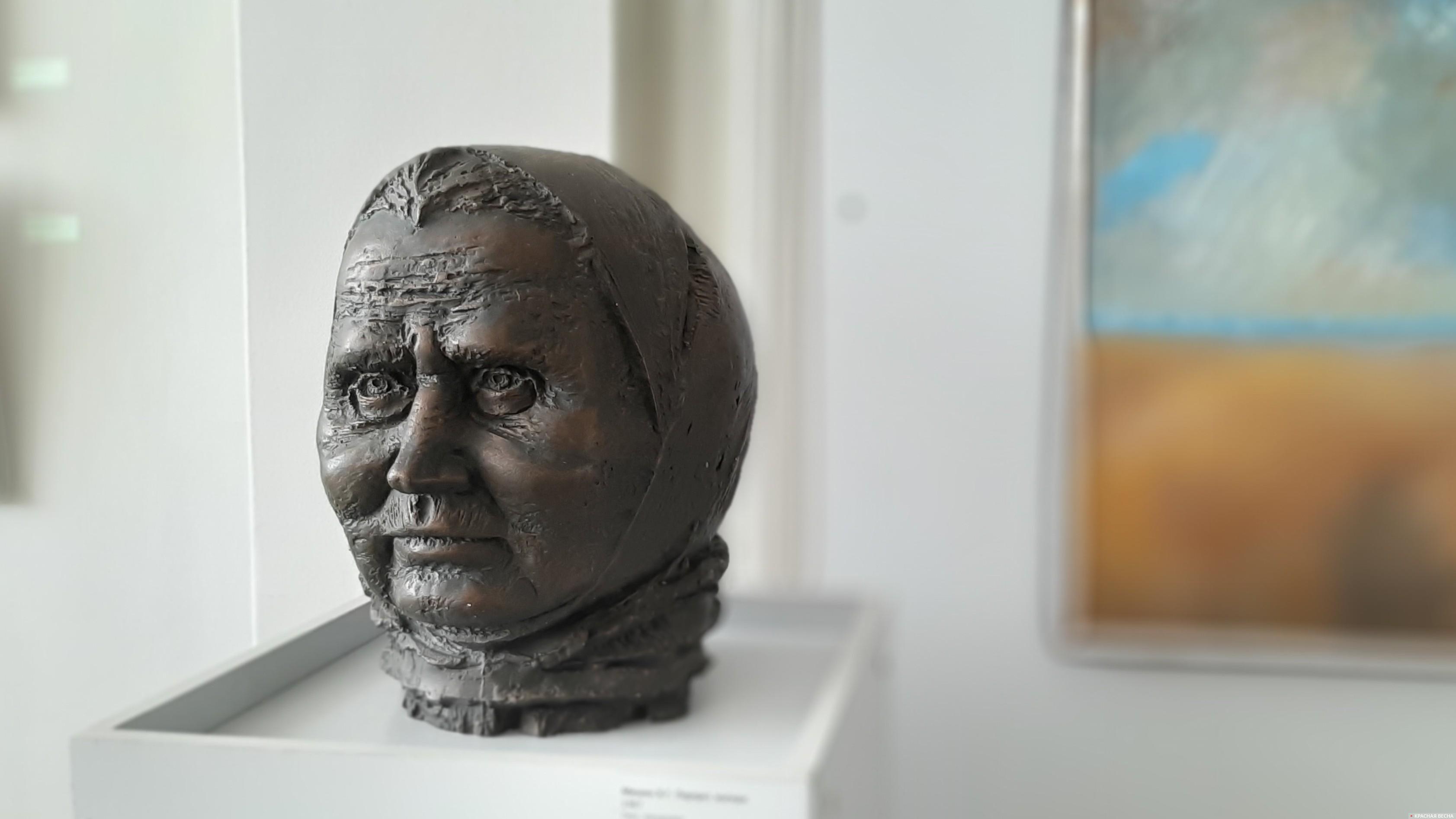 Владимир Мишин. Портрет матери. 1987