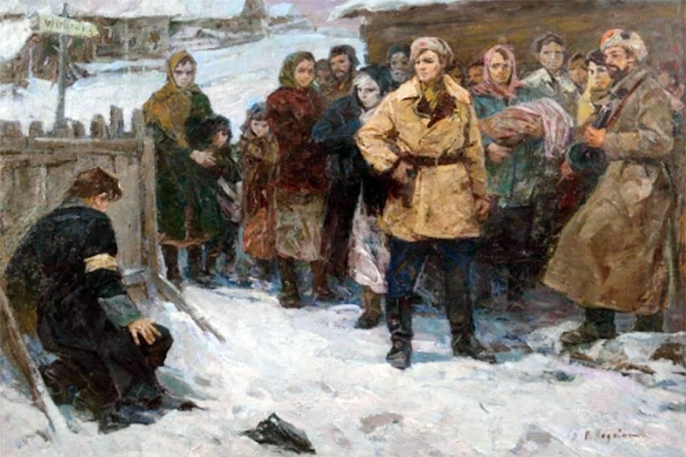Виктор Леонидович Ладейщиков. Суд над полицаем. 1976