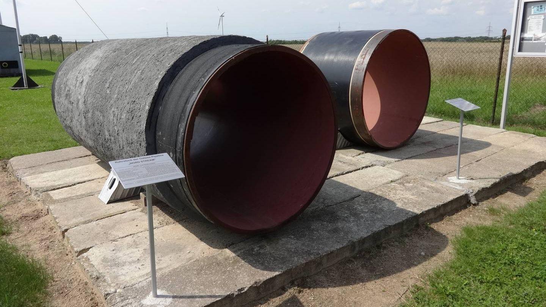 Трубы газопровода «Северный поток — 2»