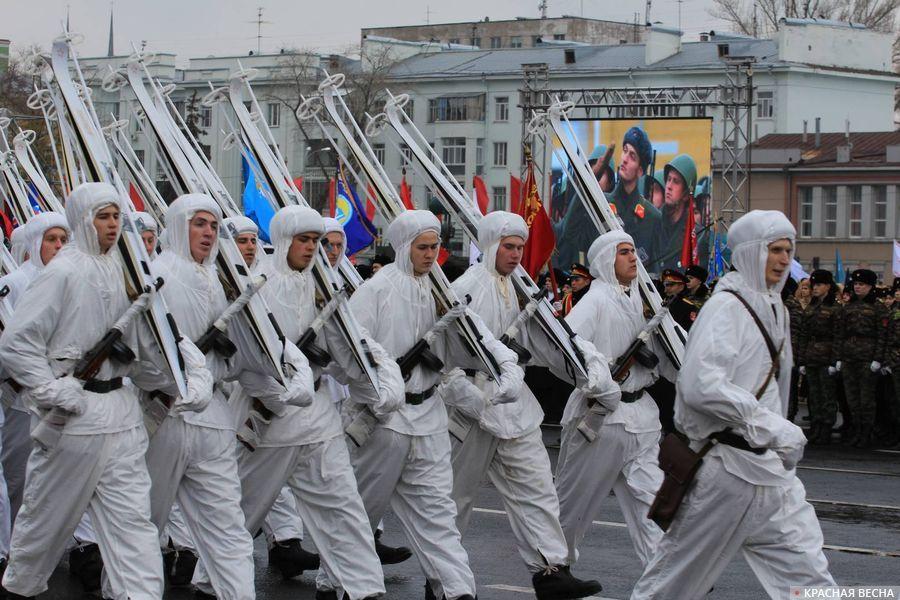 Парад памяти в Самаре. 2019 год