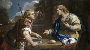 Лука Джордано. Продажа первородства. (1695)