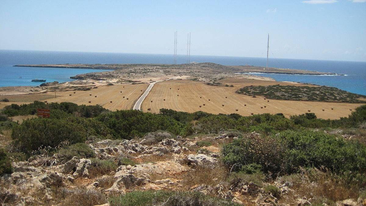 Военно-морская база на мысе Кэйп Греко. Кипр