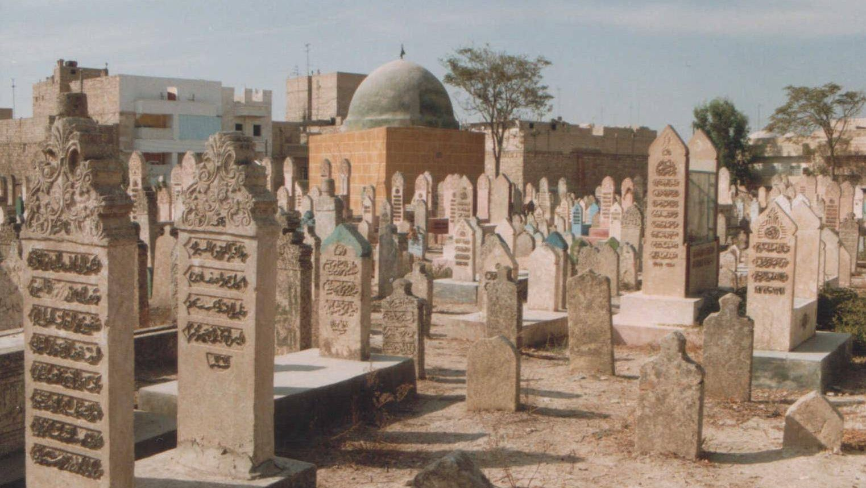 Мусульманское кладбище в Сирии