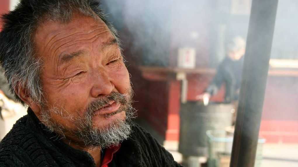 Старый японец