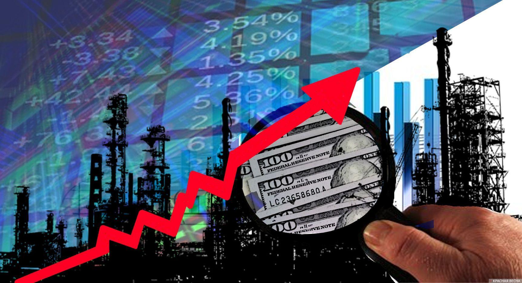 Нефть. Доллар. Цены на нефть