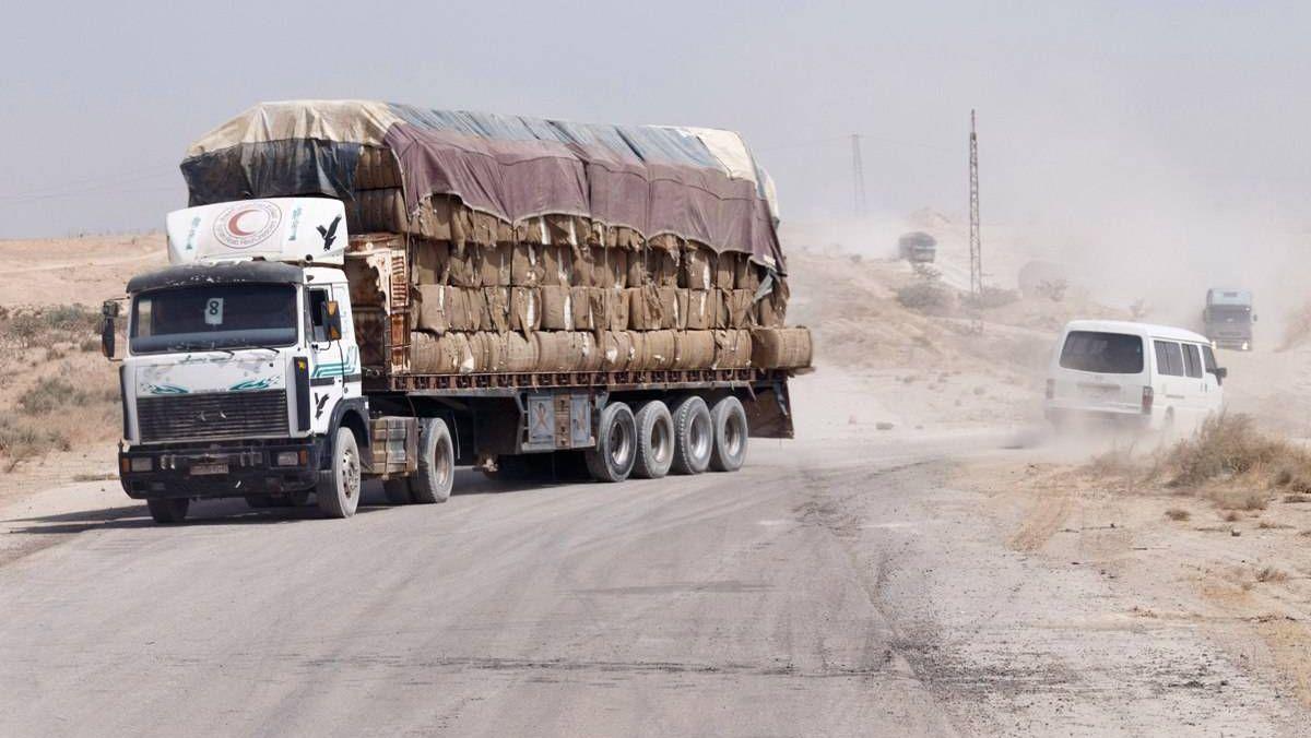 Автодорога в Сирии