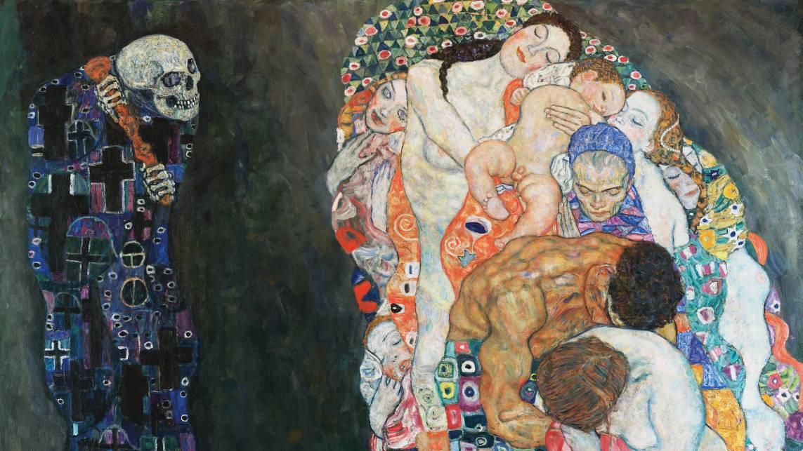 Густав Климт. Жизнь и Смерть. 1915.