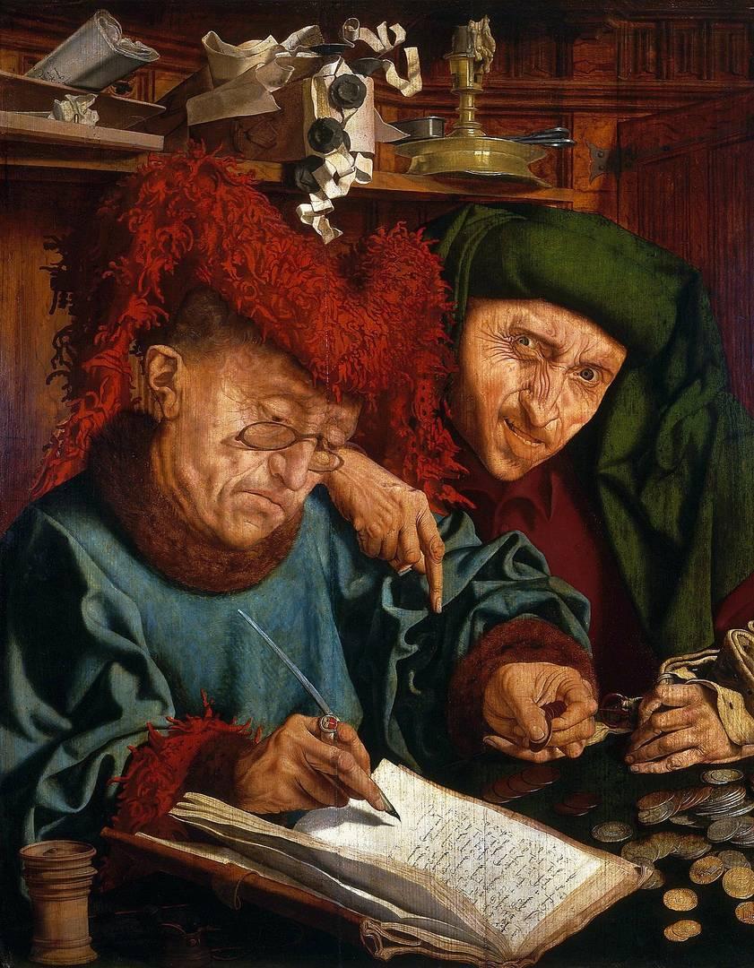 Маринус ван Реймерсвале. Два сборщика податей. Первая половина XVI в.