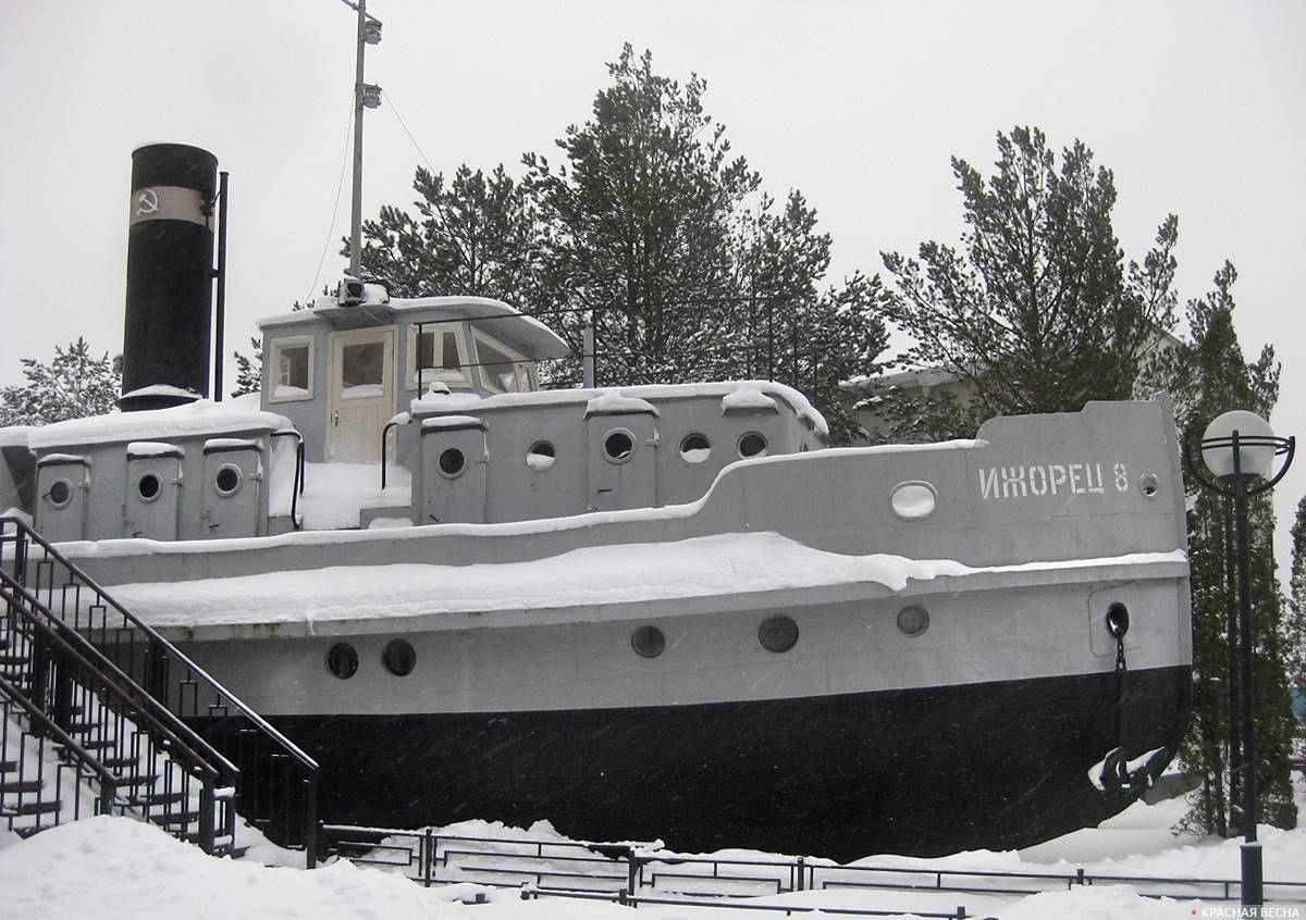 Буксирный пароход «Ижорец №8»