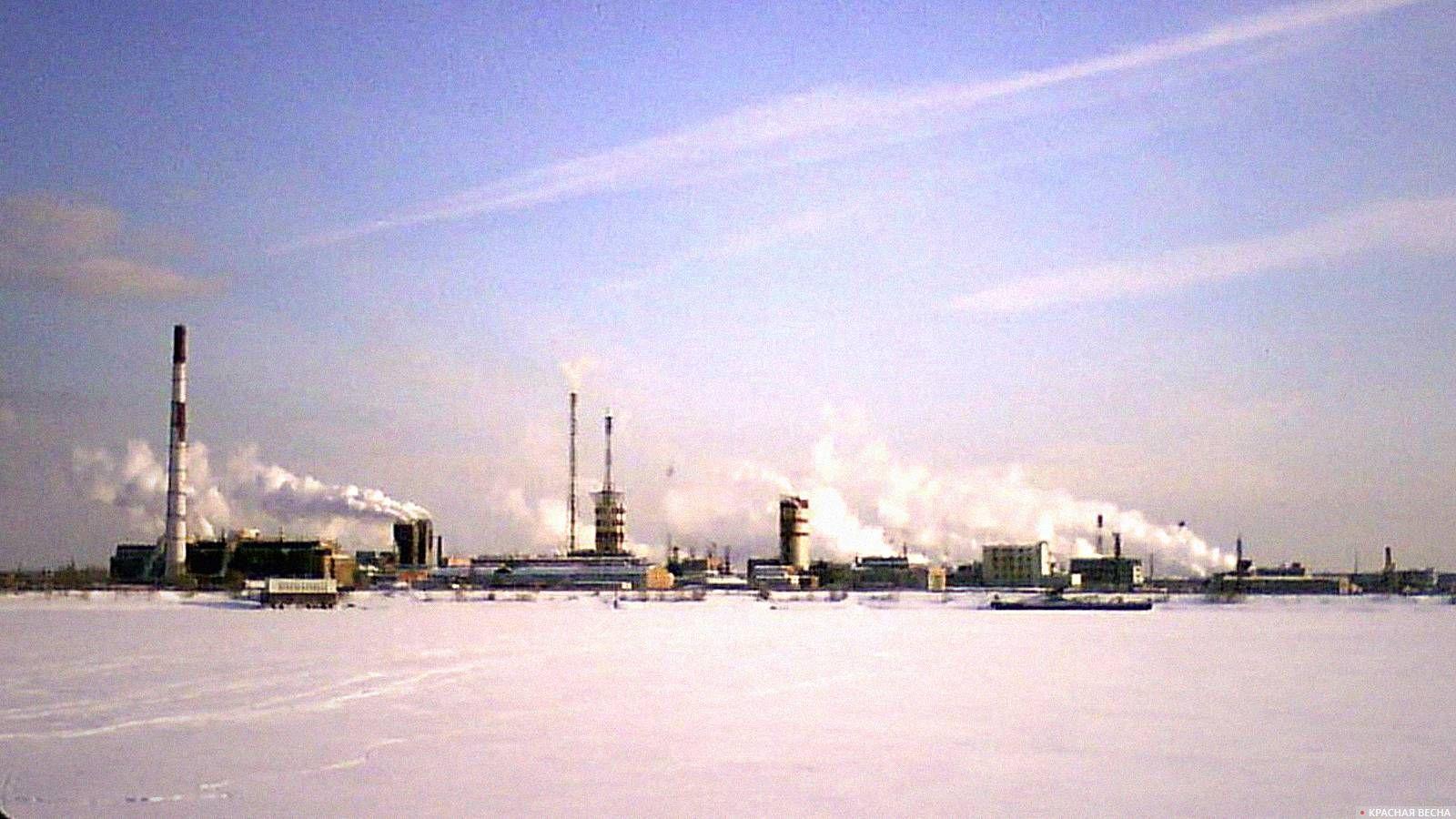 Завод на Урале