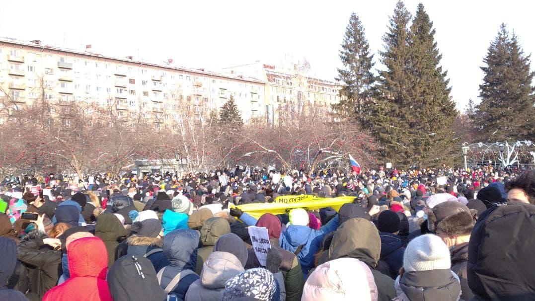 Площадь Ленина, Новосибирск