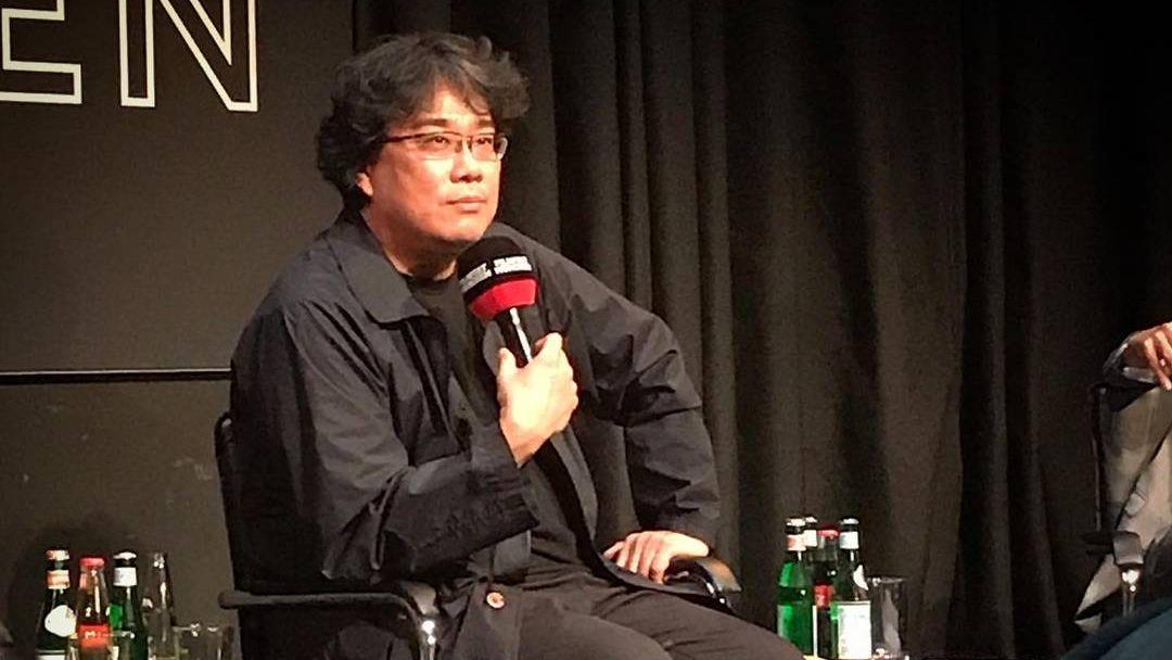 Пон Чжун Хо мюнхенском международном кинофестивале 4 июля 2019.
