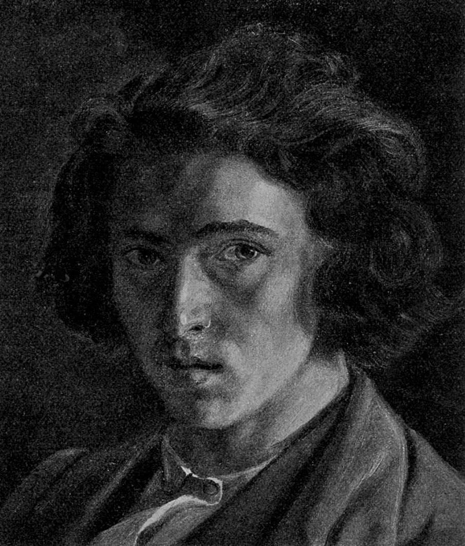 Илья Репин. Автопортрет. 1863