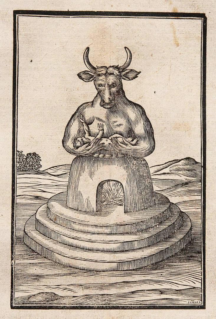 Молох. Библия Мартина Лютера, издание 1753 г.