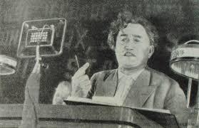 Георгий Димитров выступает на VII съезде Коминтерна, 1935 год.