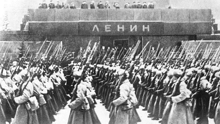 Военный парад 7 ноября 1941 года, Москва