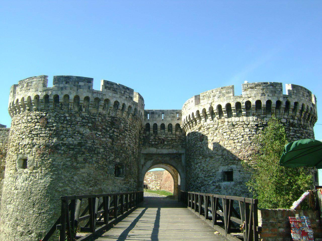 Крепость Калемегдан в центре Белграда