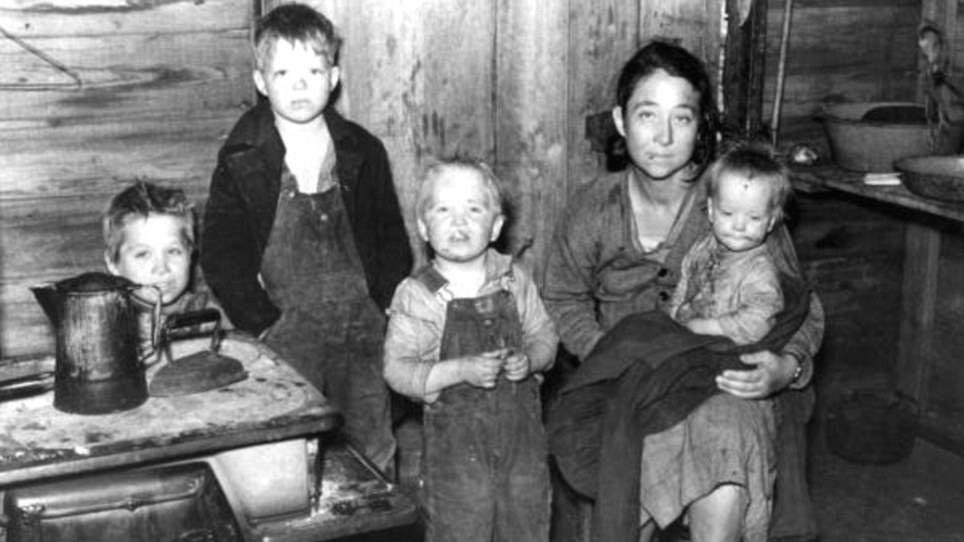 Фотографии голода в США 30-х годов использовались на Украине для иллюстрации голодомора