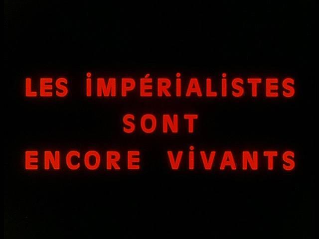 «Империалисты все еще живы». Кадр из фильма «Китаянка» Жана-Люка Годара