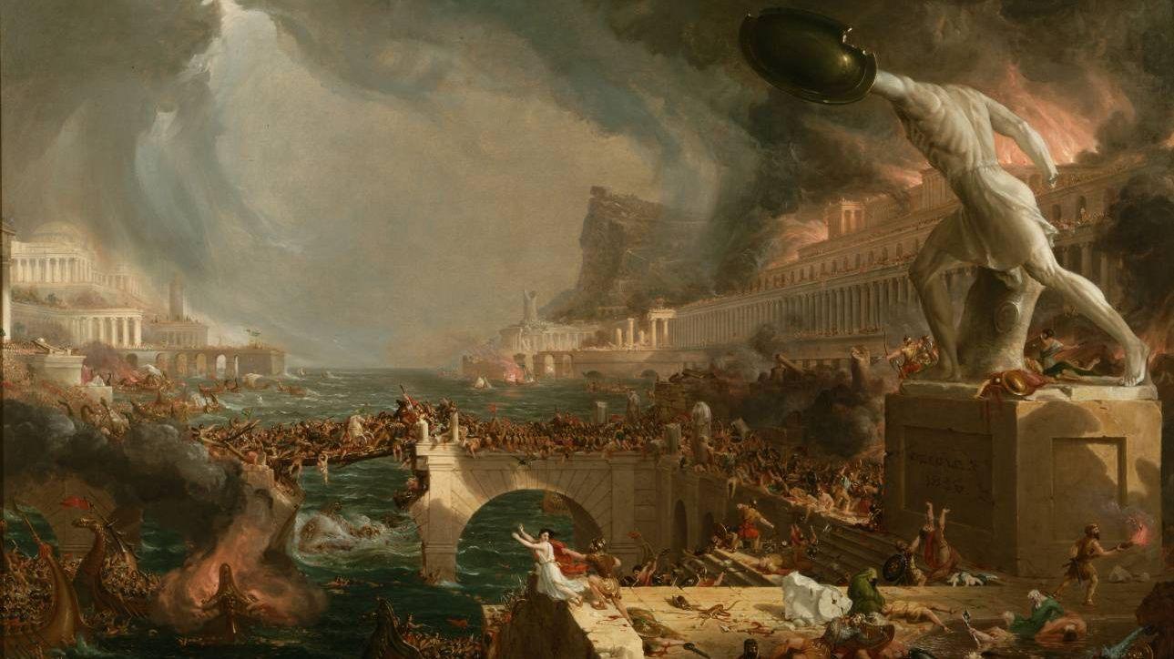 Томас Коул. Крушение империи.1836