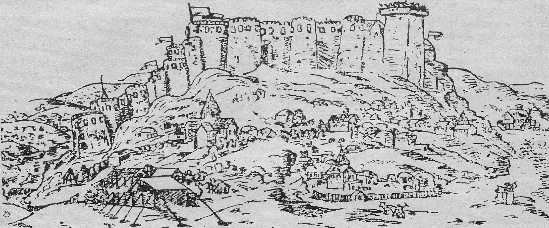 Кристофоро де Кастелли. Горийская крепость. 1642
