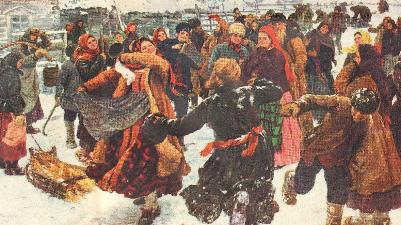 Ф.В. Сычков. Пляска. 1911
