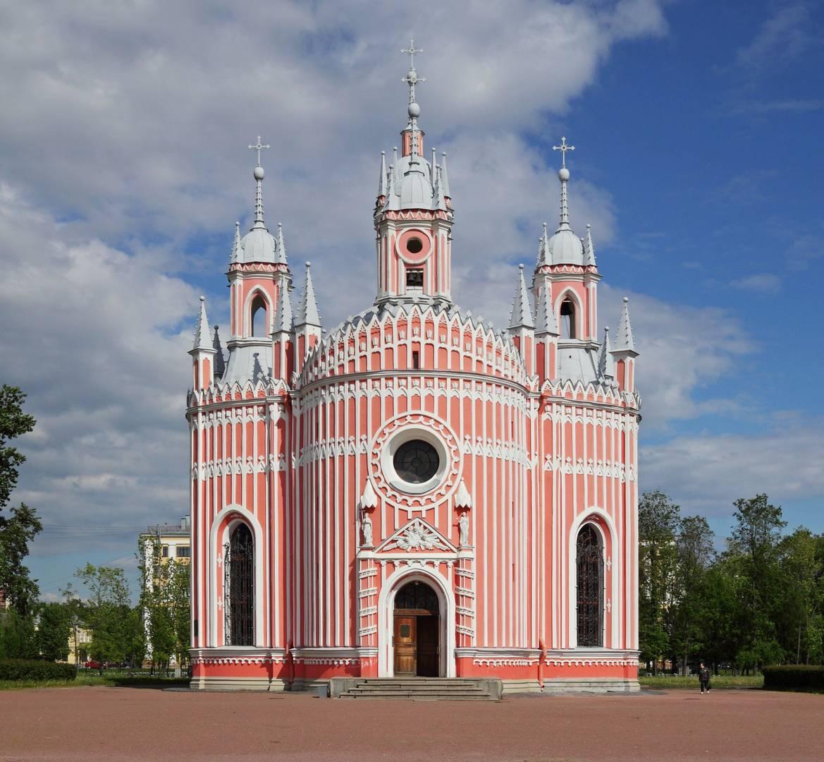 Чесменская церковь. Санкт-Петербург