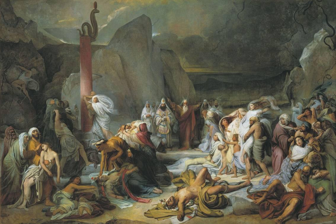 Федор Бруни. Медный змий. 1841 г.