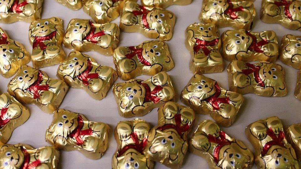 изделия сахаристые кондитерские, медвежата, шоколадные конфеты