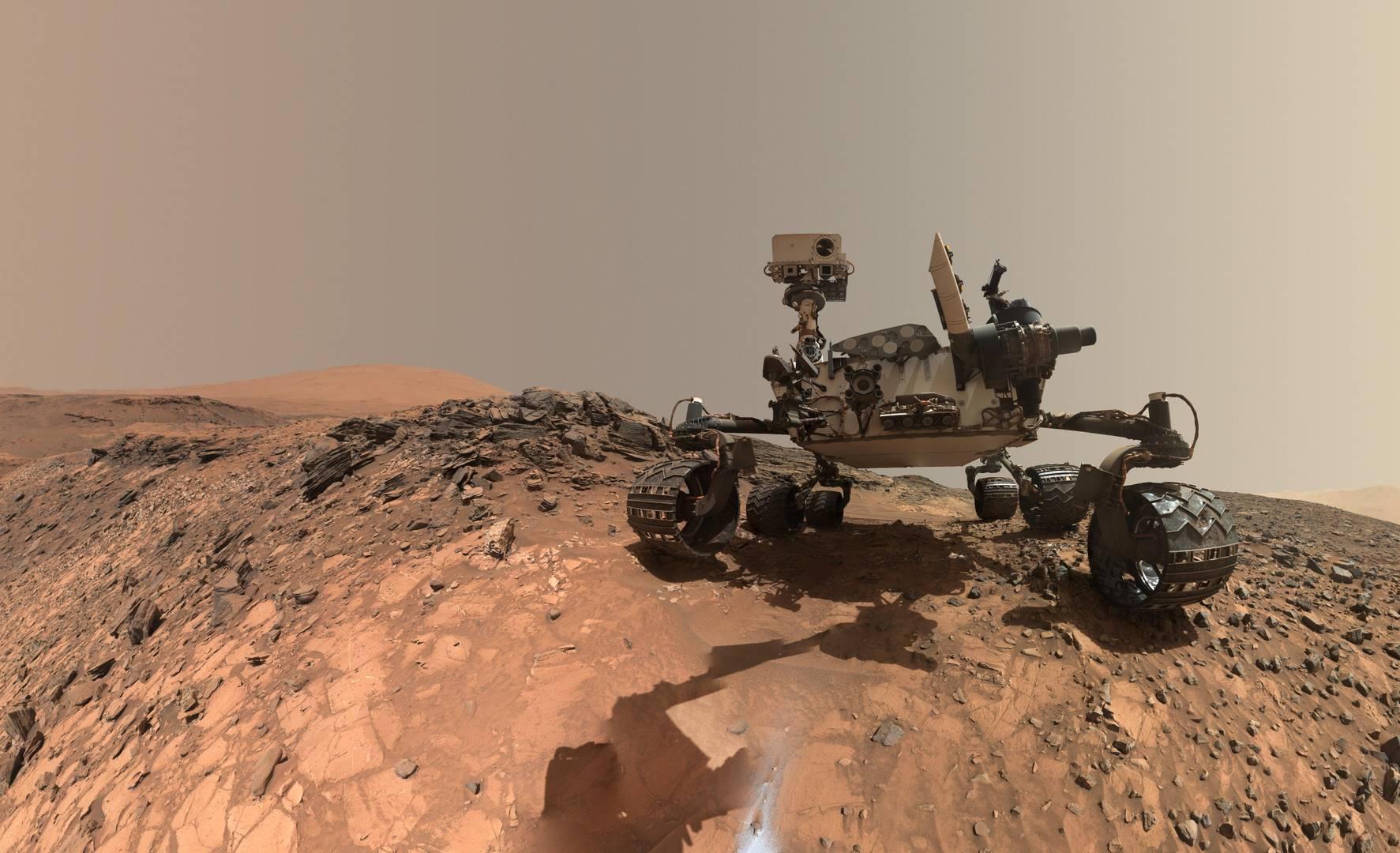 «Селфи» марсохода Curiosity