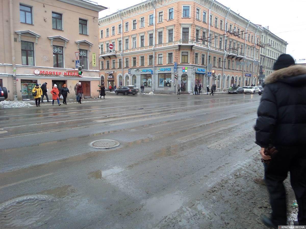 Санкт-Петербург, улица Садовая, 12.02.2018