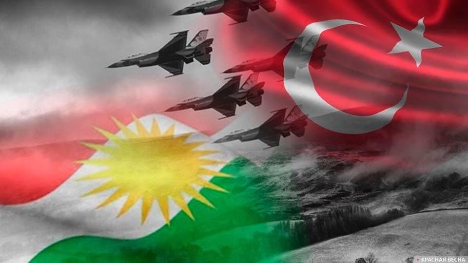 Военные действия Турции на севере Сирии