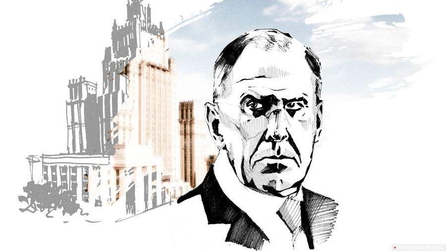 Сергей Лавров, здание МИД
