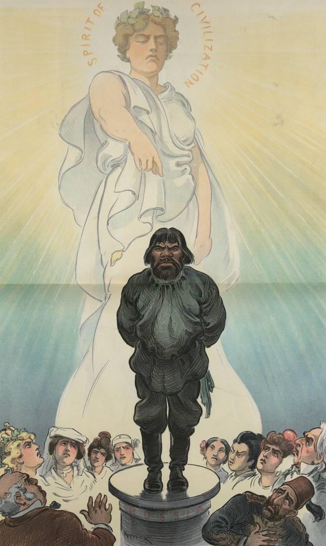 Удо Кепплер. [Россия] подвергается презрению всего мира. 1903