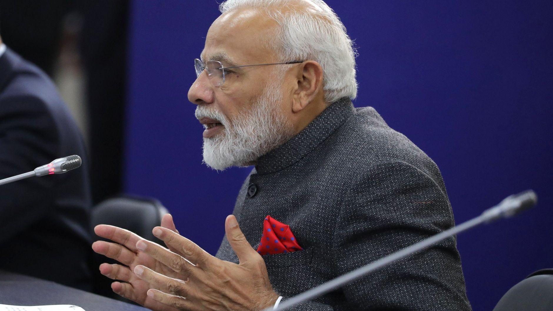 Премьер-министр Индии Нарендра Моди