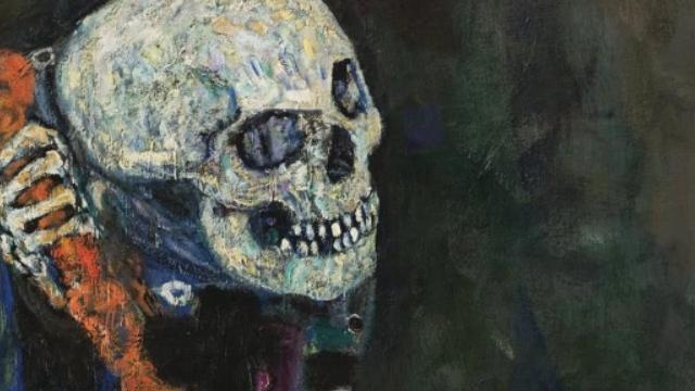 Густав Климт. Смерть и жизнь (фрагмент). 1915