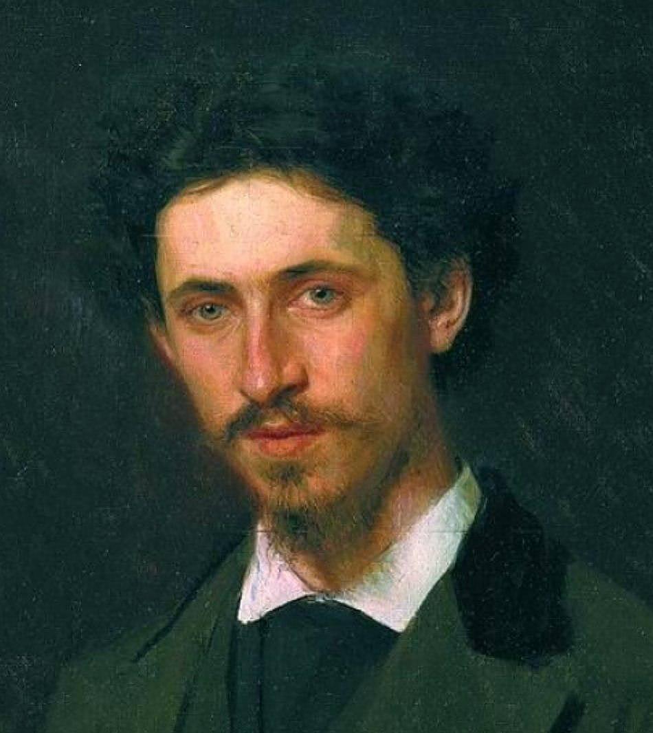 Иван Крамской. Портрет И. Е. Репина. 1876
