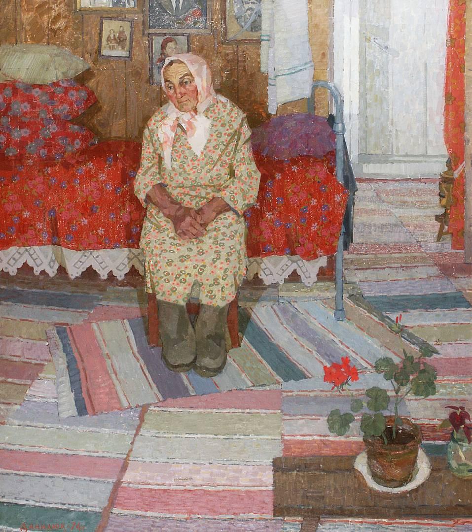 Данилюк Владимир Александрович. Солдатская вдова. 1984