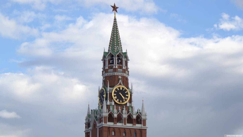 Спасская башня. Кремль. Москва