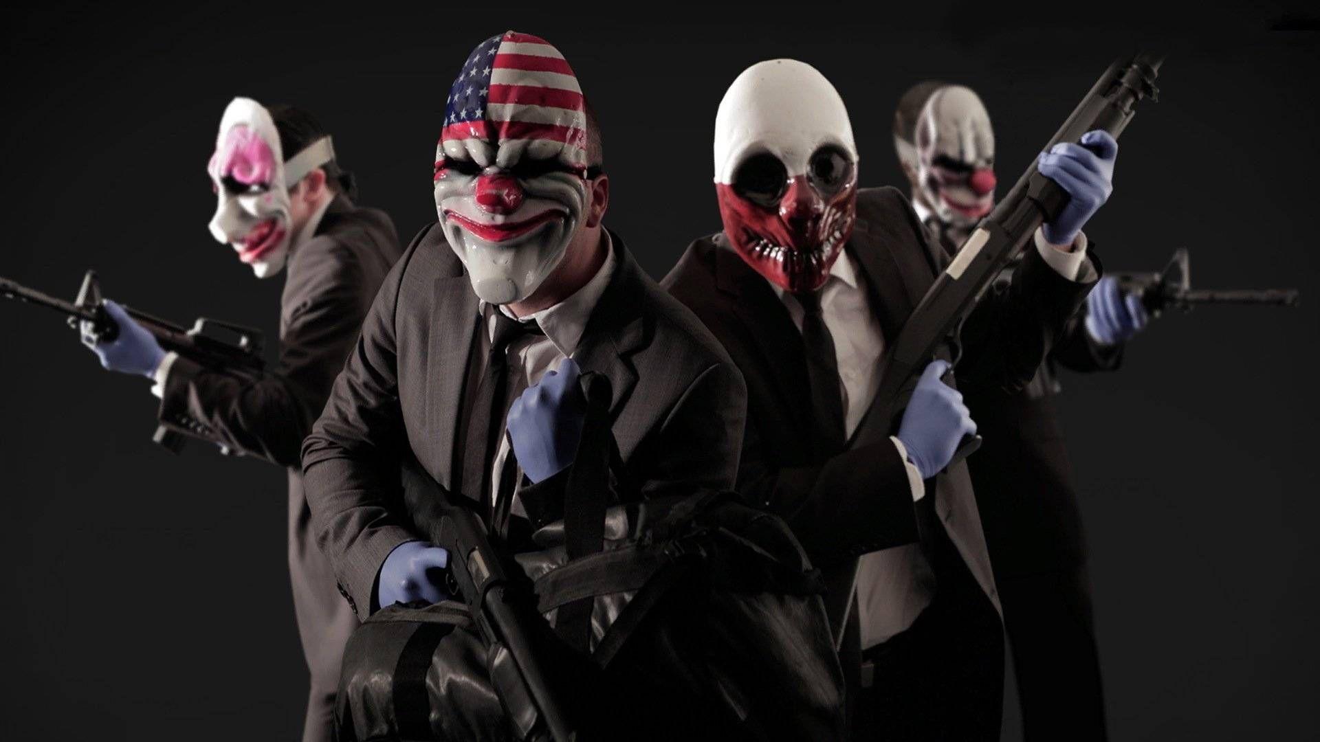 Клоуны-грабители