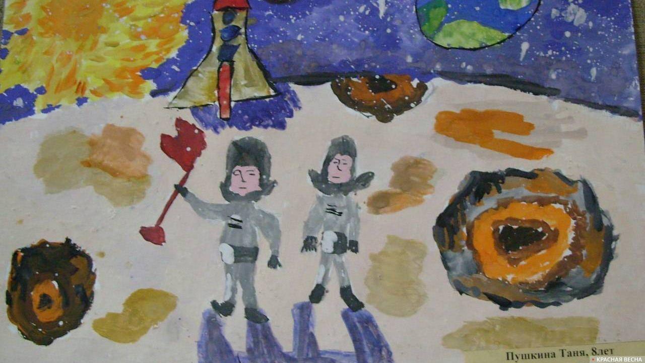 Рисунки детей изостудии музея Крылова