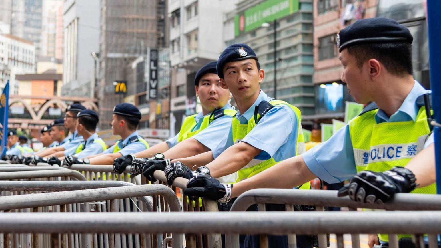 Полиция Гонконга