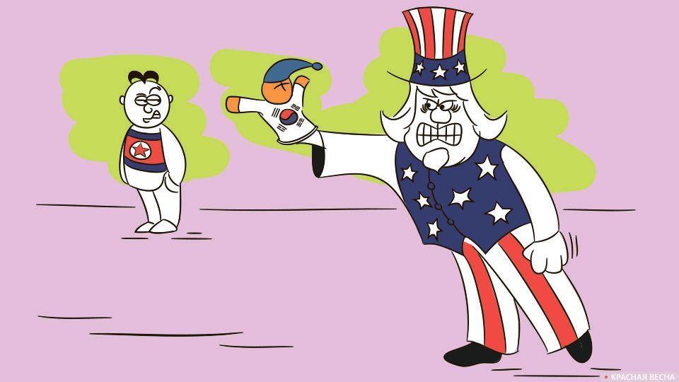 КНДР, Южная Корея и США