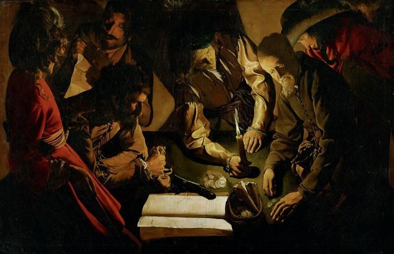 Жорж де Латур. Платеж (У ростовщика). 1618