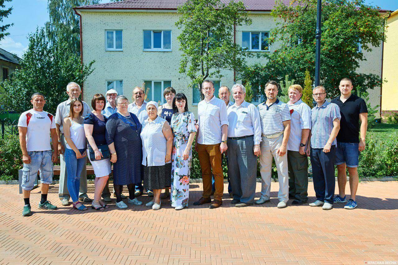 Команда Сергея Тимофеева на выборах в Кимовске