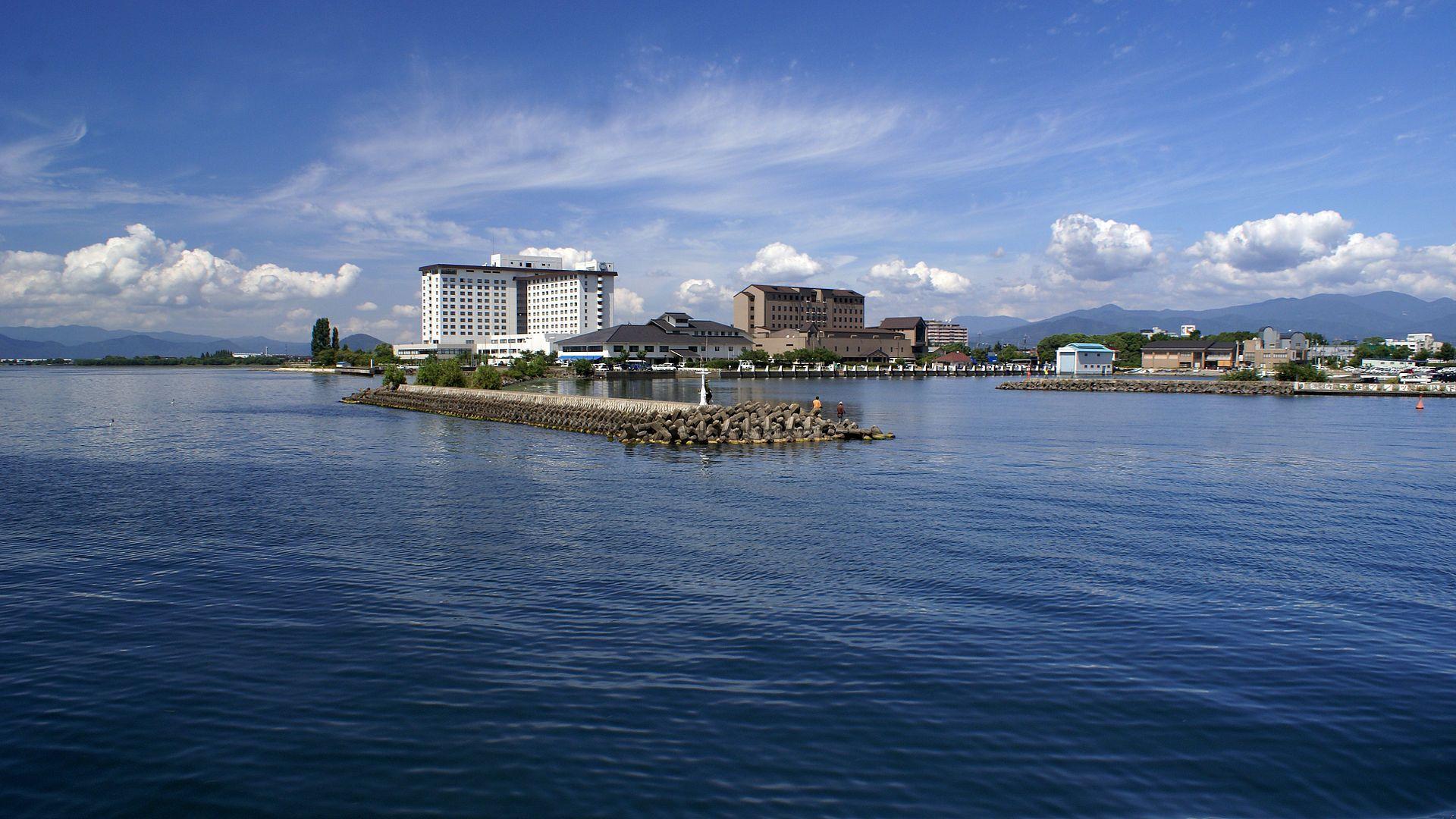 Озеро Бива. Япония